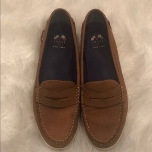 Brown Leather Cole Haan Loafers